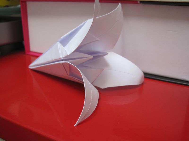 The frog s blog origami - Origami fleur de lys ...